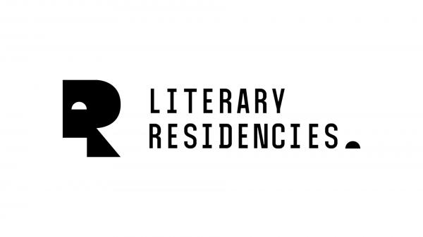 logotyp z napisem: Literary residences